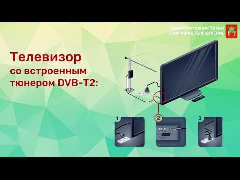 Как включить цифровое телевидение