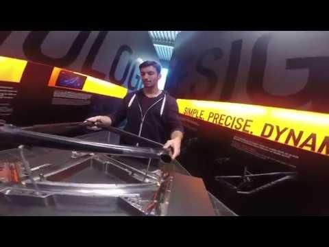 Vlog: Zu Besuch bei Canyon Bikes in Koblenz - Pumptrack und Showroom mit Sender CF, Strive, Stitched