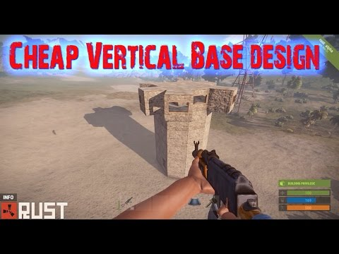 Rust Vertical Solo / Small Clan Base Design (2016)