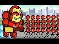 HERO WARS Super Stickman Defense - New 1vs1 & 2vs2 MODE Update on City Map Hack - Gameplay H