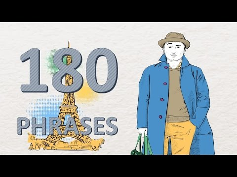 Learn French # 180 phrases and words
