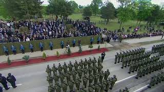 Serbia holds a military parade as a show of military might in a tense region