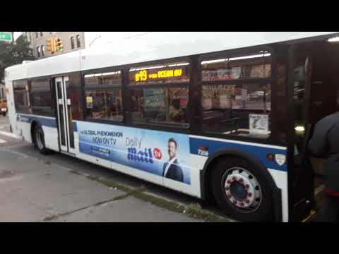 2015 New Flyer XD40 Manhattan Beach Bound B49 Bus Limited @ Bedford Ave & Church Ave