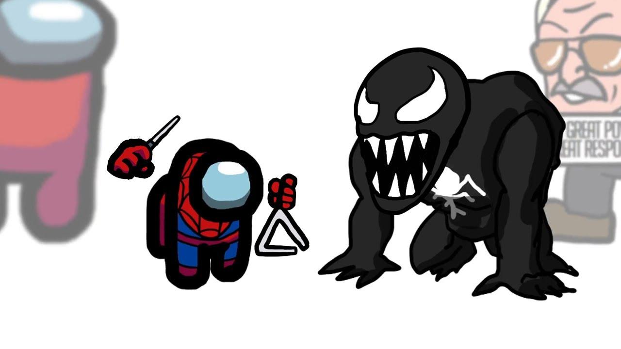 Mini Crewmate Kills 7 Spider-Man Villains | Among Us