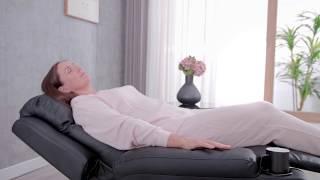 Attenborough Leather Pushback Recliner   Furniture Online