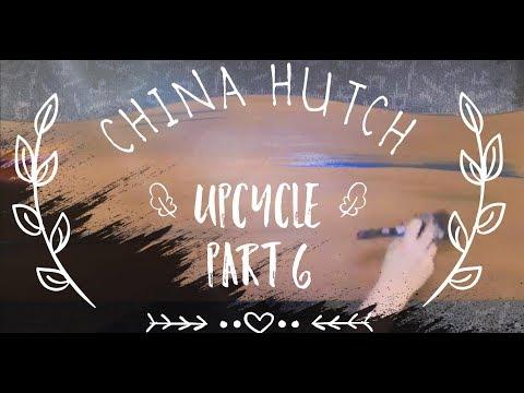 China Cabinet Upcycle!! Episode 6