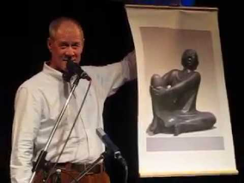 Singende Mann (Barlach), Wolfgang Rieck, Festival für Musik und Politik 2018, Wabe Berlin