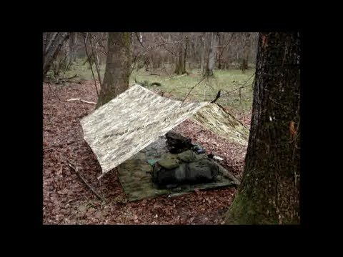ADAPT TO THE SITUATION - Unexpected Bug Out / Stealth Camp In Rain & Thunder.