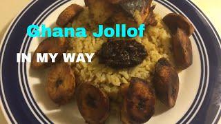 How To Prepare Jollof Rice  Homemade Jollof  ( GHANA STYLE)