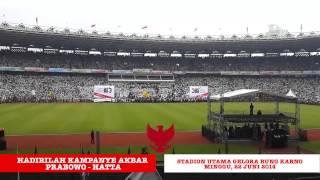 Download Video Mari Putihkan Jakarta, 22 Juni 2014 - Kampanye Akbar Prabowo - Hatta! MP3 3GP MP4