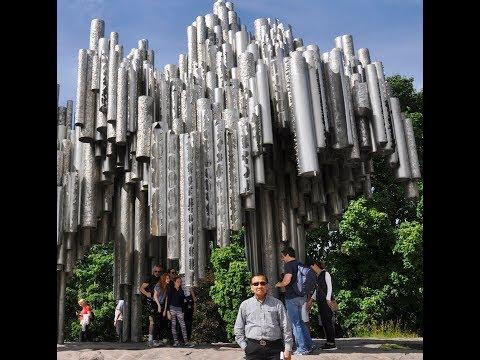 Sam Laksanasut World Tour to Sibelius Monument (Helsinki Finland)