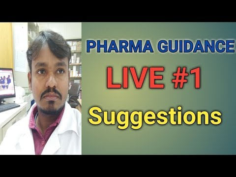Live Suggestions for Pharma Freshers About Pharma Field #1 |