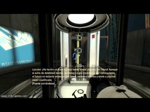 Guía Paso a Paso: Portal 2 (Cap. 1)