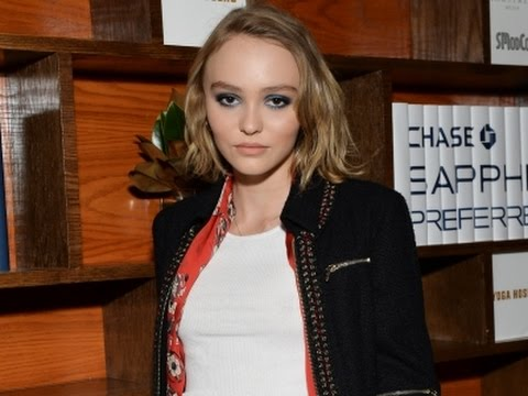Lily-Rose Depp: amazing to Work With Dad