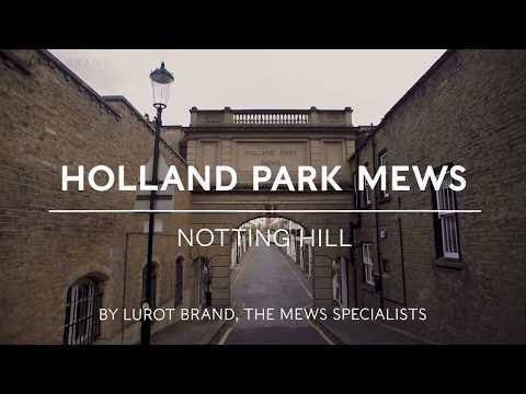 Holland Park Mews || Notting Hill || W11|| London Mews House | Lurot Brand