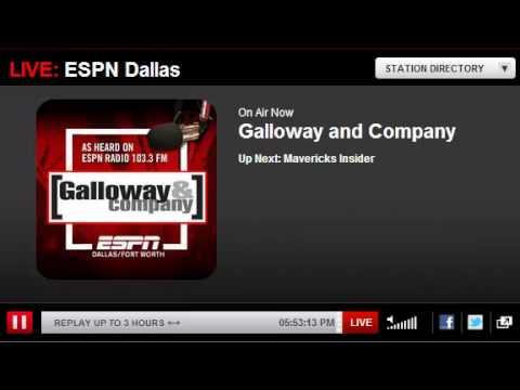 ESPN Radio Dallas on Darrell K Royal