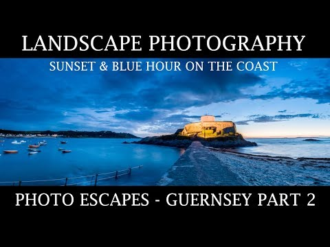 Slow Shutter Speeds in Coastal Landscape Photography - Guernsey Part 1