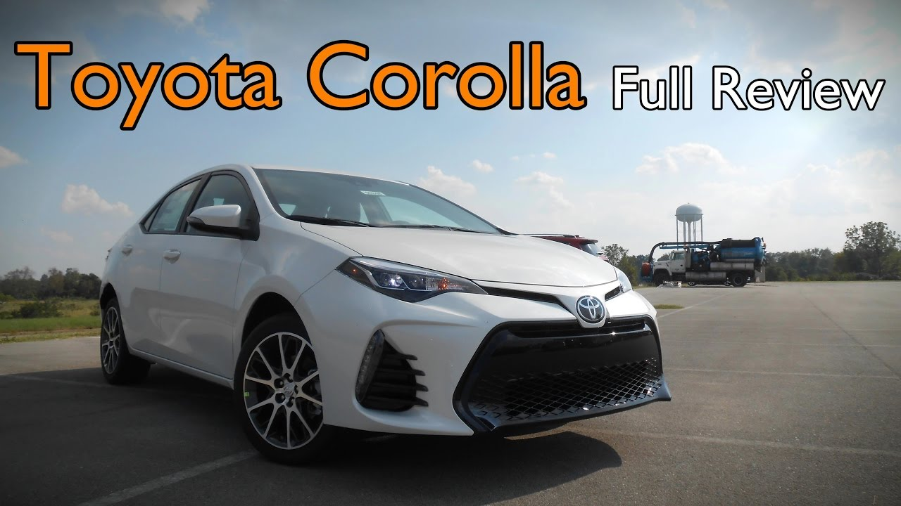 2017 toyota corolla full review l le le eco se xle xse 50th anniversary special. Black Bedroom Furniture Sets. Home Design Ideas