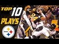 Steelers Top 10 Plays Of The 2016 Season | Nfl Highlights video
