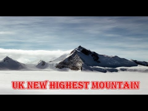 New highest mountain for UK as Antarctic peak taller than first thought