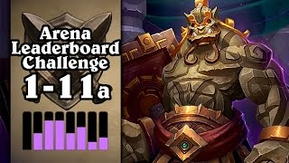 Hearthstone: Arena Leaderboard Challenge 1-11 - More Claws Than Hands - Part 1 (Shaman Arena)