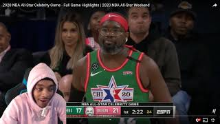 FlightReacts 2020 NBA All-Star Celebrity Game - Full Game Highlights 2020