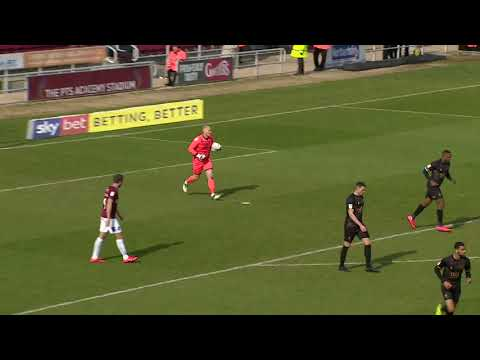 HIGHLIGHTS: Northampton Town 1 Mansfield Town 1