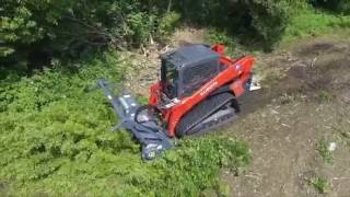 Loftness VMLogix  G4 Mulcher on Kubota SLV95 2S 2016