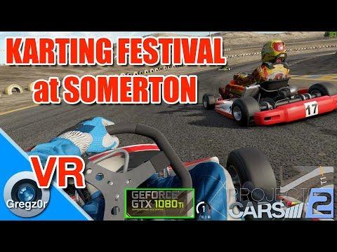 5K iMac & GTX 1080 Ti + VR: Kart Festival at Somerton.