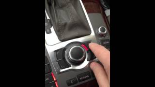 How To Set The Clock Time - 2005 Audi A6 Quattro with Navigation