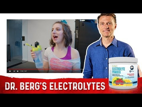 Dr. Berg's Electrolyte Powder Commercial