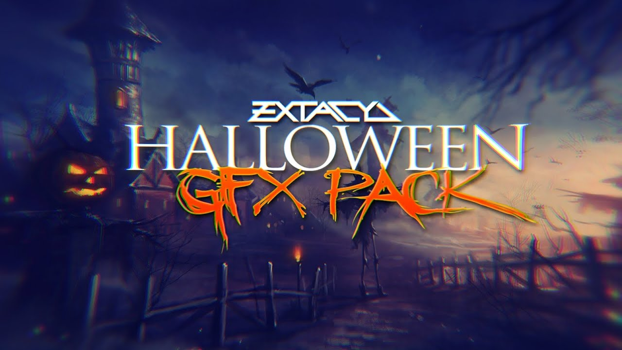 Halloween Graphics Pack! - YouTube