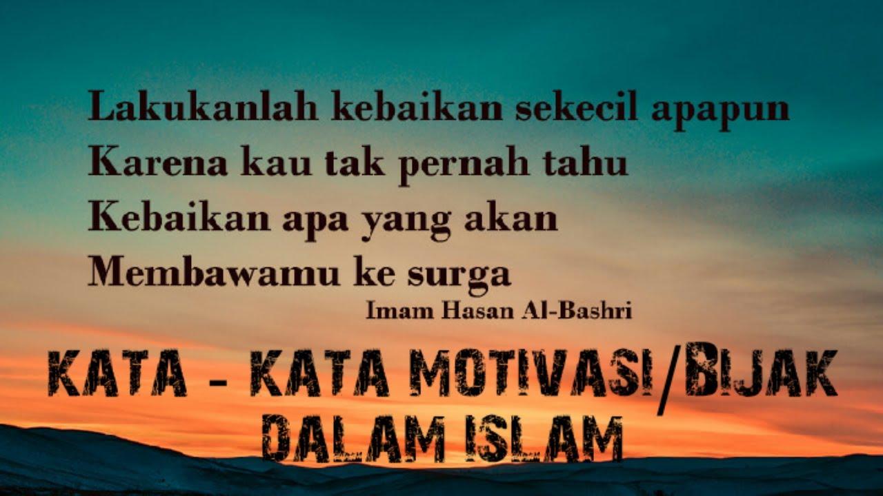 KATA MOTIVASI DALAM ISLAM |SLIDESHOW - YouTube