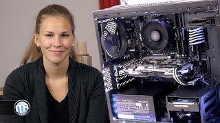PC bauen ohne Kenntnisse? Meine Freundin baut zum ersten Mal einen PC! 😅