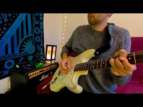 Radiohead / Weird Fishes / Guitar Loop Cover (With Tab)