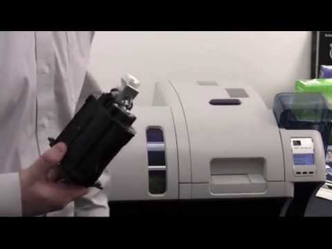 Zebra ZXP Series 8 ID Card Printer - How to Clean Your Printer