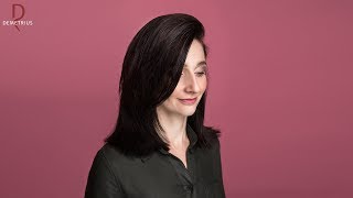 DEMETRIUS | Женская стрижка на густые волосы средней длины | Стрижка лесенка