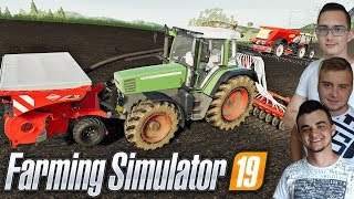 "Farming Simulator 19 MP ""od Zera do Farmera""#41㋡ Uprawa, nawóz i siew owsa! ✔ MafiaSolecTeam"