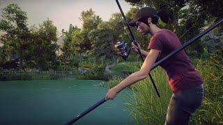 Рыбалка на озере Касли.