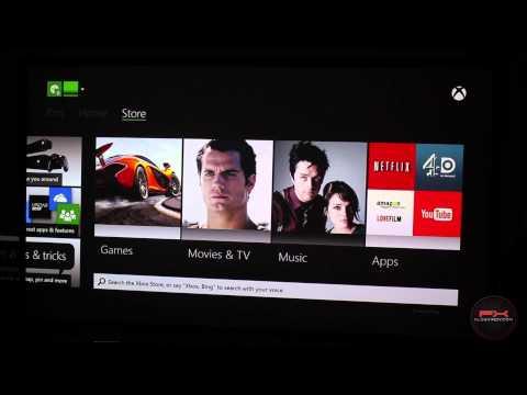 Xbox One - первый запуск и бодание с меню