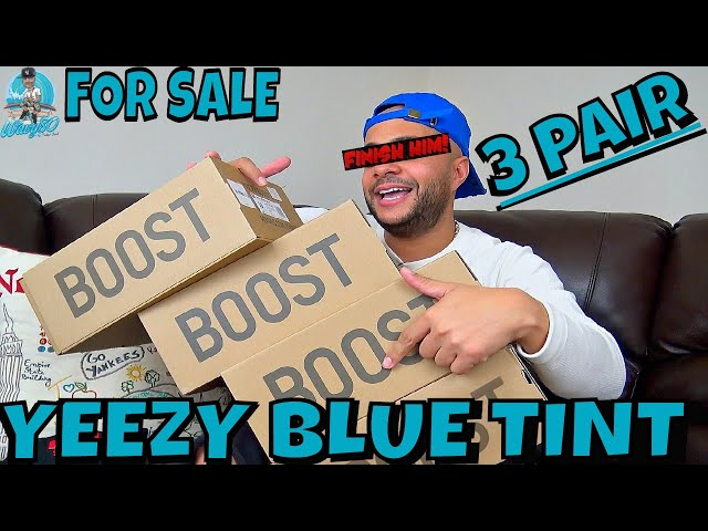 YEEZY 350 BOOST V2 BLUE TINT FIRST THOUGHTS | 3 PAIRS OF YEEZYS FOR SALE