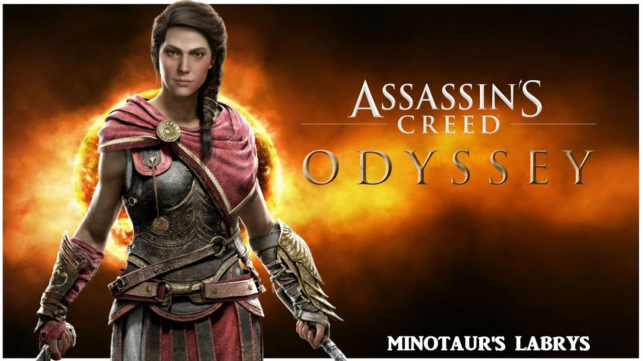 Assassins Creed Odyssey Minotaur S Labrys Legendary Heavy