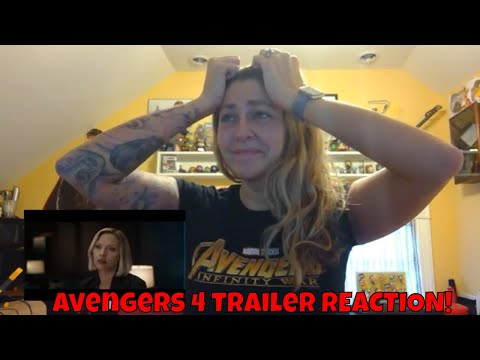 Avengers 4 Official Trailer REACTION!