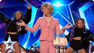 FIRST LOOK: Strewth! Sheila is quite the character | BGT 2019