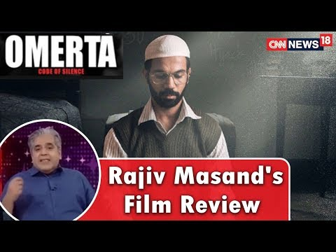 Rajeev Masand's Review of Omerta Movie | CNN News18