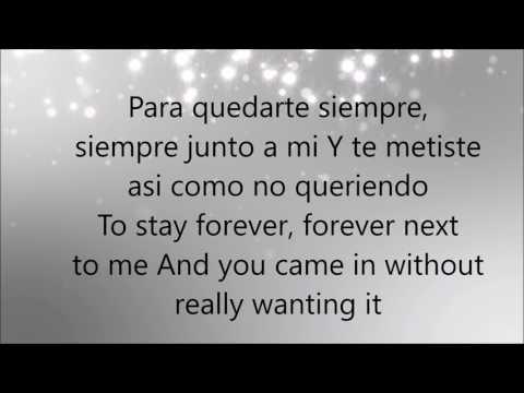 Ariel Camacho - Te metiste [letra en inglés y español]