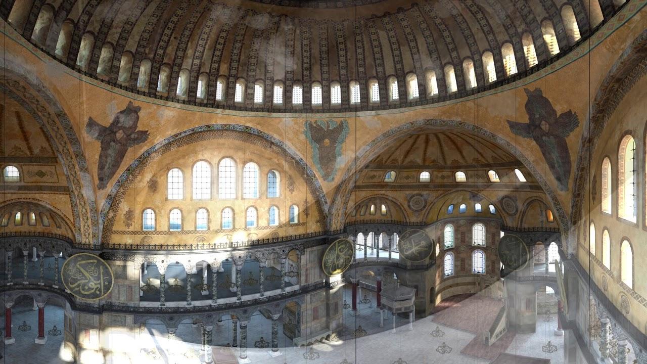 360 Degree Virtual Tours of the Hagia Sophia