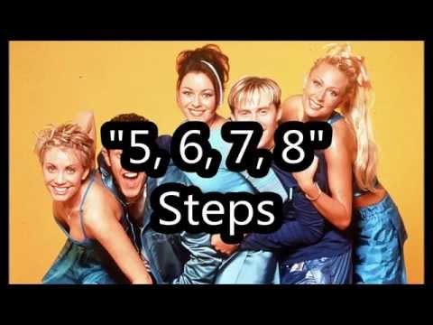 5, 6, 7, 8  - Steps - Lyrics