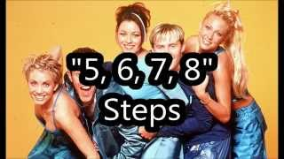 5, 6, 7, 8  - Steps - Lyrics