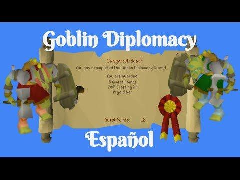 [OSRS] Goblin Diplomacy Quest (Español)